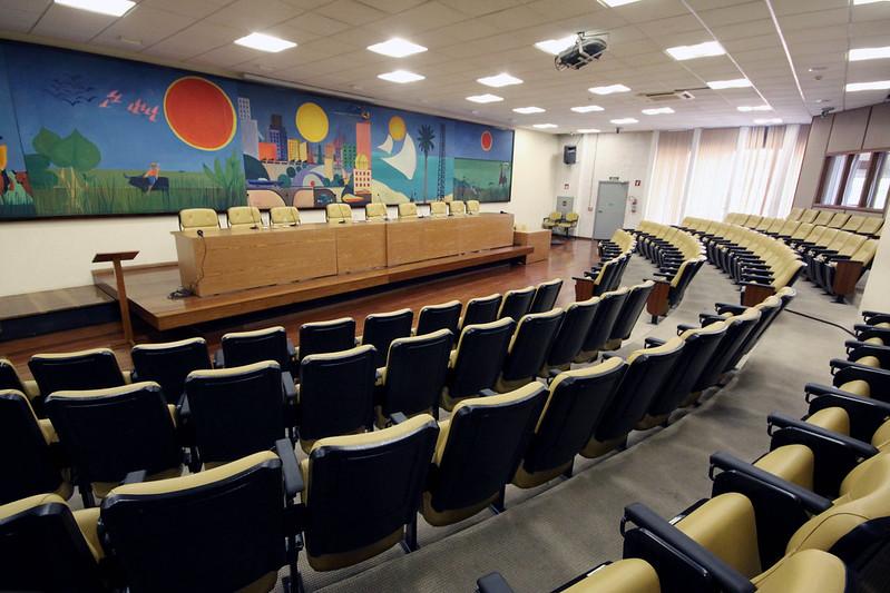 2014 SÃO PAULO - SP Auditório Prestes Maia  Auditórios Prédio Câmara Municipal de São Paulo.  FOTO: André Bueno / CMSP