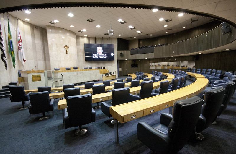 2014 SÃO PAULO - SP Plenário 1º de Maio  Auditórios Prédio Câmara Municipal de São Paulo.  FOTO: André Bueno / CMSP